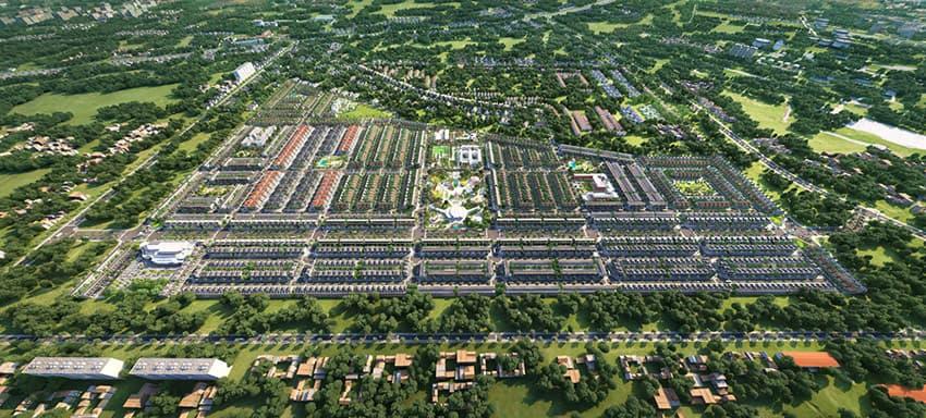 Toàn cảnh dự án Gem Sky World 92,2ha tại Long Thành, Đồng Nai