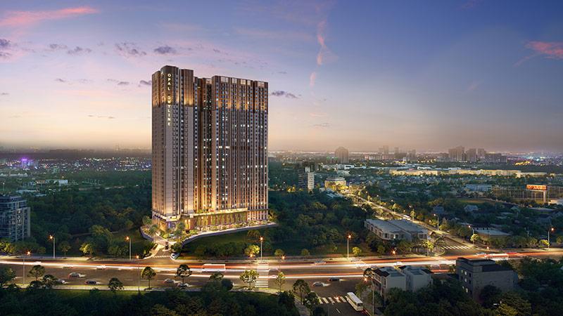 Toàn cảnh dự án căn hộ Opal Skyline
