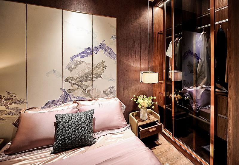 Phòng ngủ sẽ được trang bị sàn gỗ nhập khẩu cao cấp